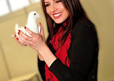 svadobne holuby