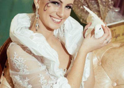 biele holubky,